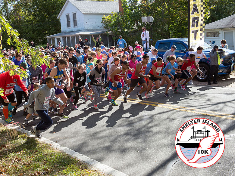 Shelter Island 10K website