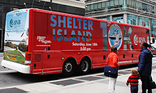 Shelter Island 10K Bus Wrap