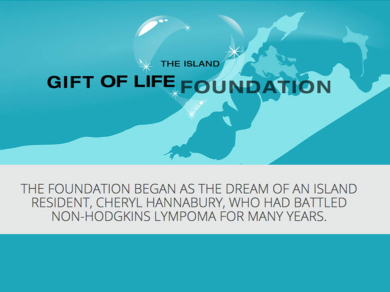 The Island Gift of Life Foundation website