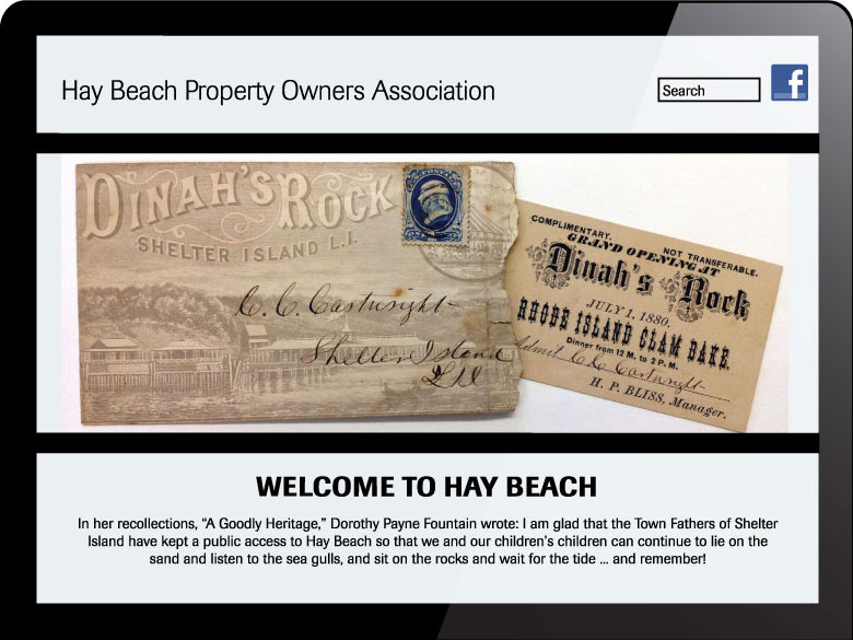 Hay Beach Property Owners Association website